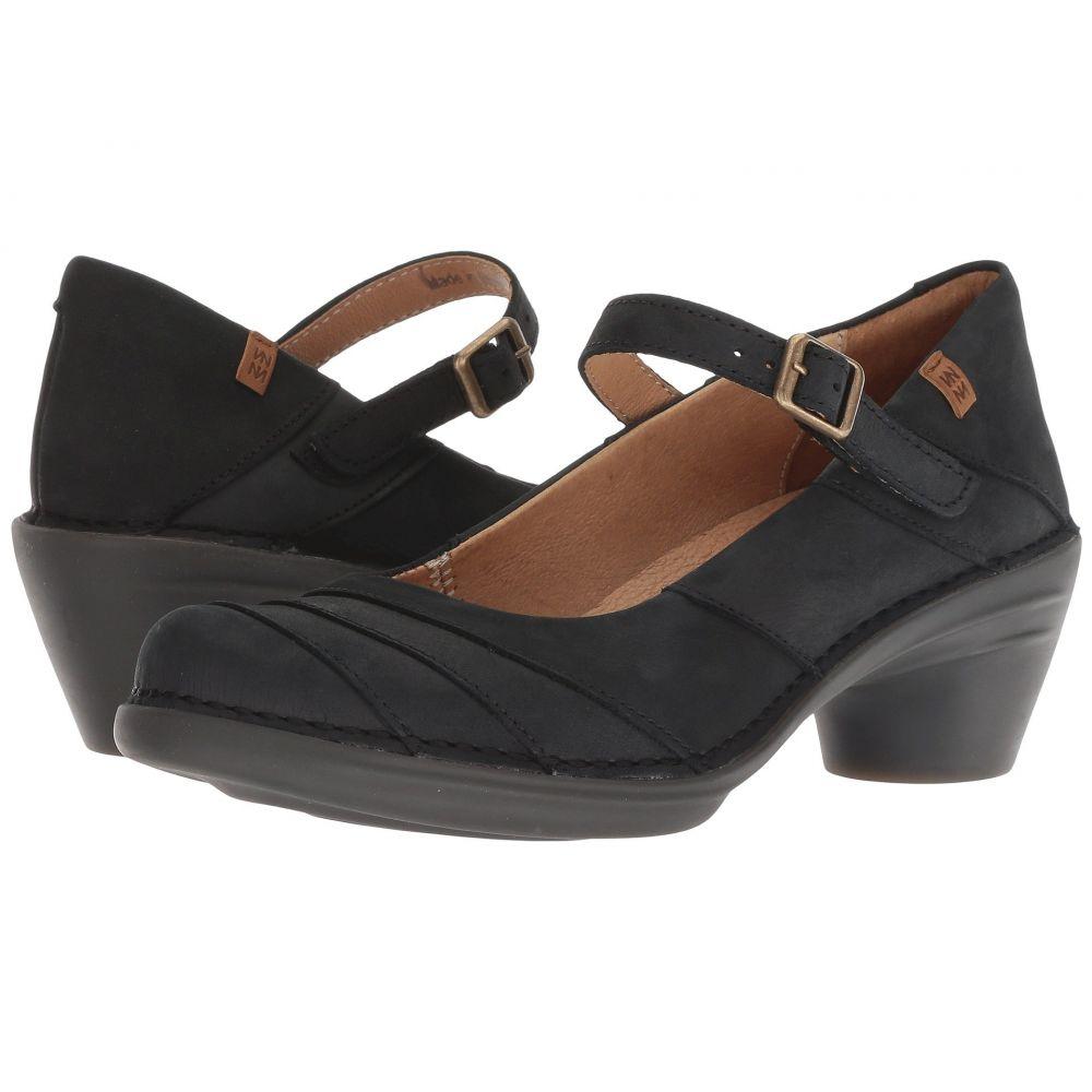 N5327】Black/Black ヒール シューズ・靴【Aqua El Naturalista エル ナチュラリスタ レディース