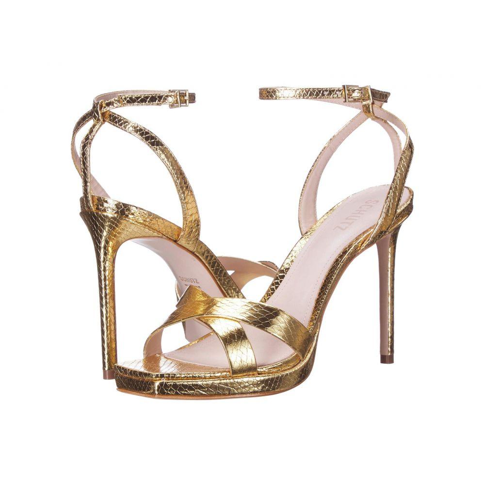 【美品】 シュッツ Schutz レディース ヒール シューズ・靴【Ava Rose】Gold, モーダオンライン fc779145