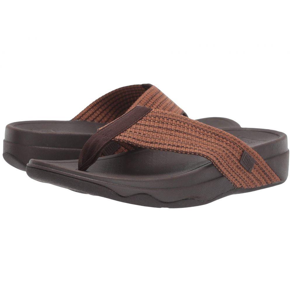 フィットフロップ FitFlop レディース ビーチサンダル シューズ・靴【Surfa】Chocolate Brown