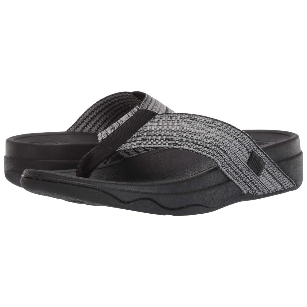 フィットフロップ FitFlop レディース ビーチサンダル シューズ・靴【Surfa】Black Multi