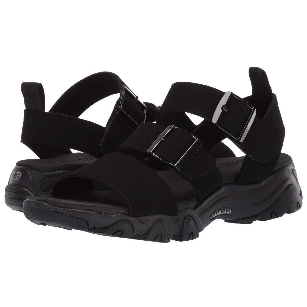 スケッチャーズ SKECHERS レディース サンダル・ミュール シューズ・靴【D'Lites 2.0 - Cool Cosmos】Black/Black