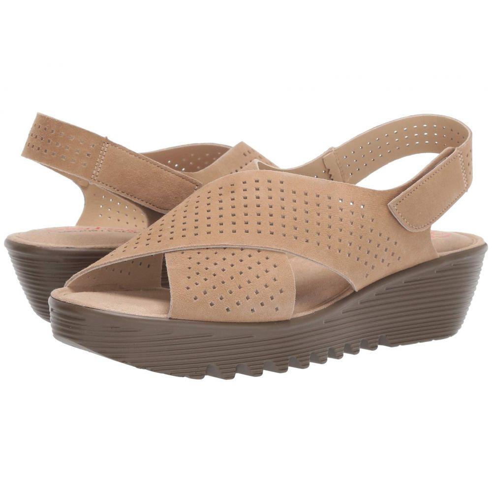 スケッチャーズ SKECHERS レディース サンダル・ミュール シューズ・靴【Petite Parallel - Plot】Dark Natural