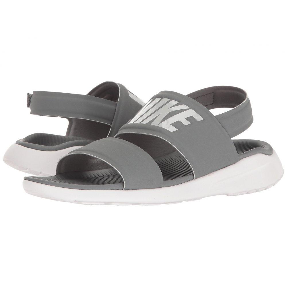 ナイキ Nike レディース サンダル・ミュール シューズ・靴【Tanjun Sandal】Cool Grey/White/Pure Platinum