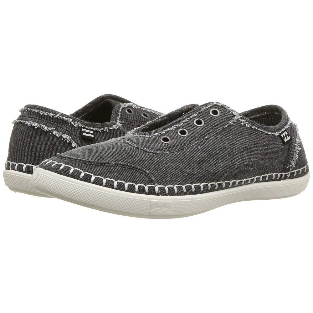 ビラボン Billabong レディース スニーカー シューズ・靴【Cruiser】Washed Black