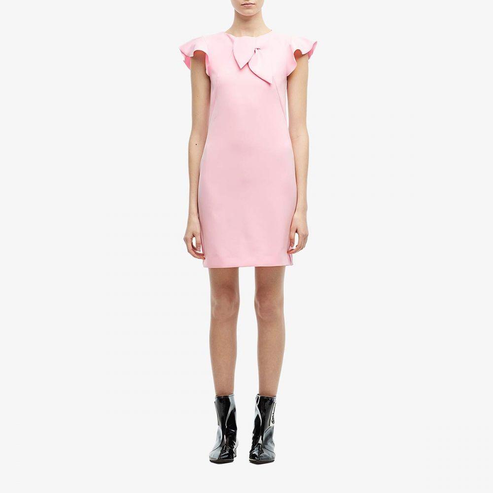 モスキーノ Boutique Moschino レディース ワンピース シフトドレス ワンピース・ドレス【Ruffle Shoulder Shift Dress】Pink