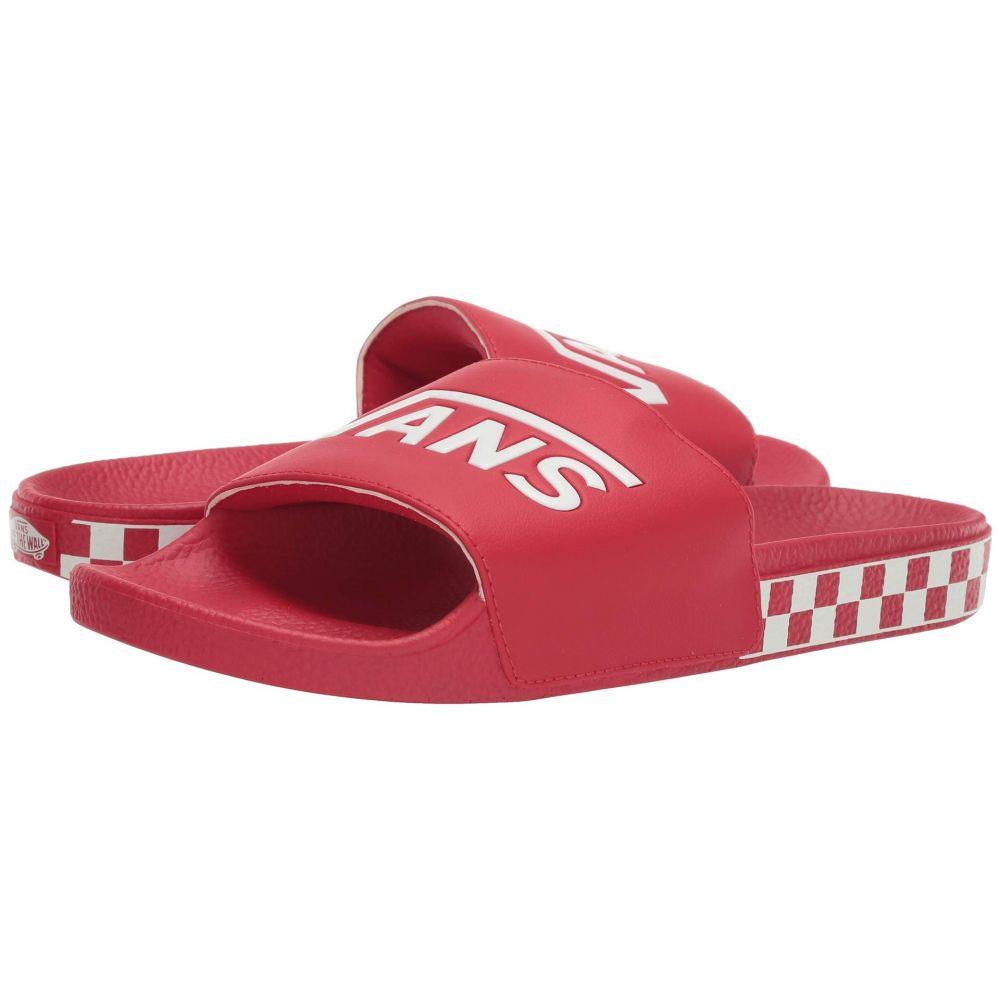 ヴァンズ Vans レディース サンダル・ミュール シューズ・靴【Slide-On】Racing Red/True White