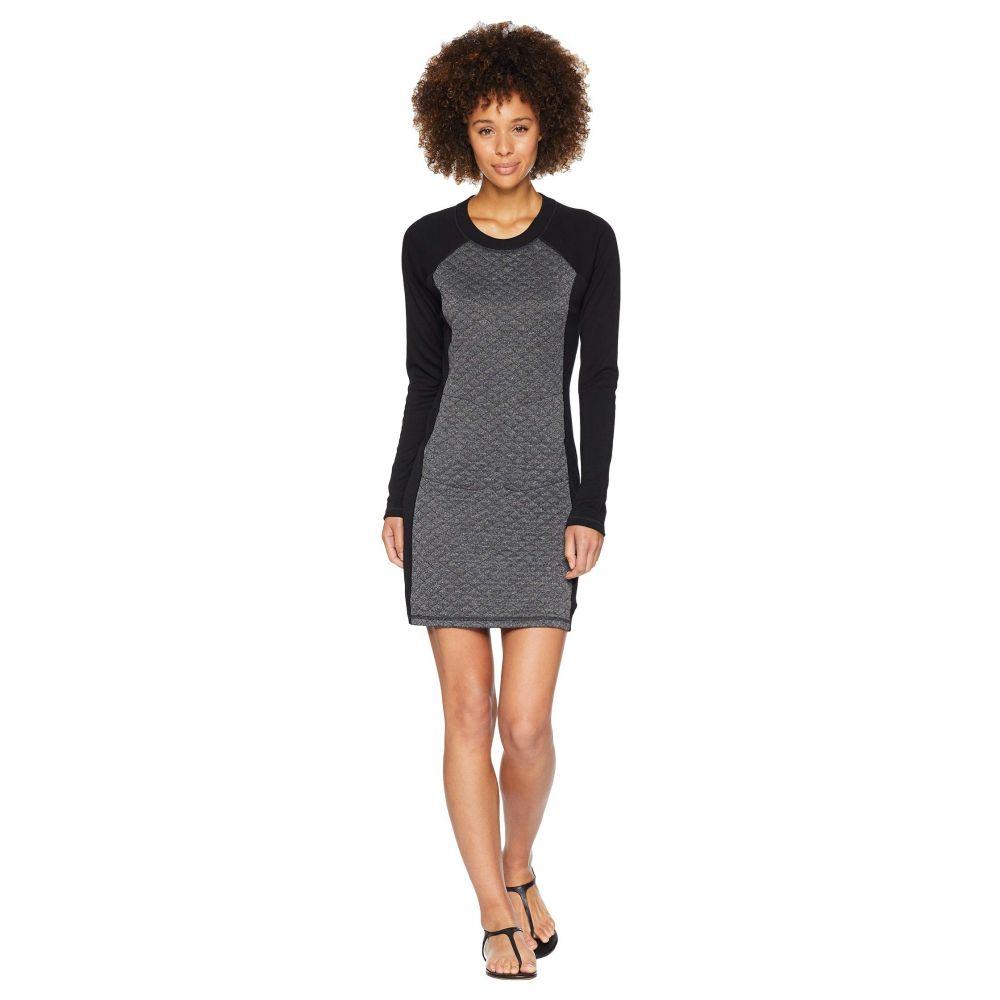 スマートウール Smartwool レディース ワンピース ワンピース・ドレス【Diamond Peak Quilted Dress】Black Heather