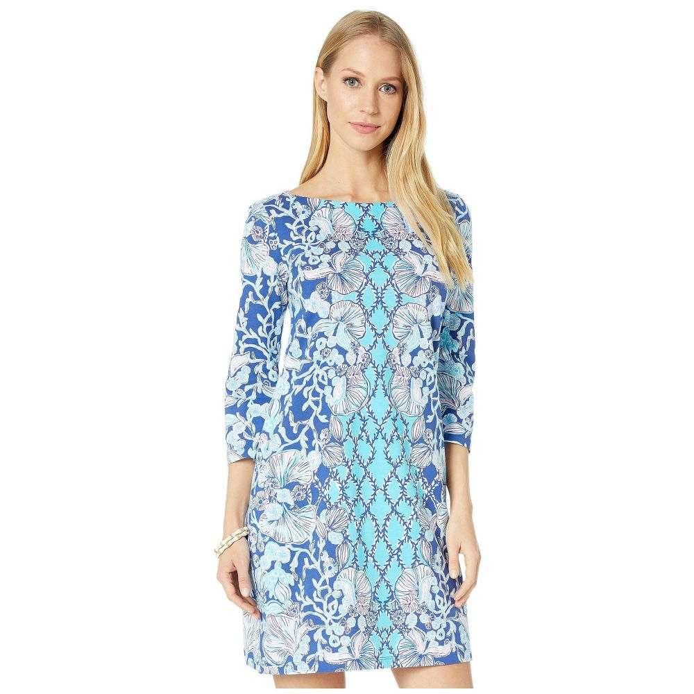 リリーピュリッツァー Lilly Pulitzer レディース ワンピース ワンピース・ドレス【Bay Dress】Lapis Lazuli Your Biggest Fan