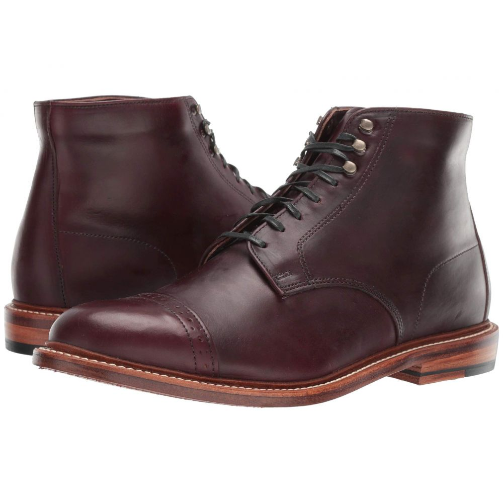 ボストニアン Bostonian メンズ ブーツ シューズ・靴【No. 16 Cap】Burgundy Leather