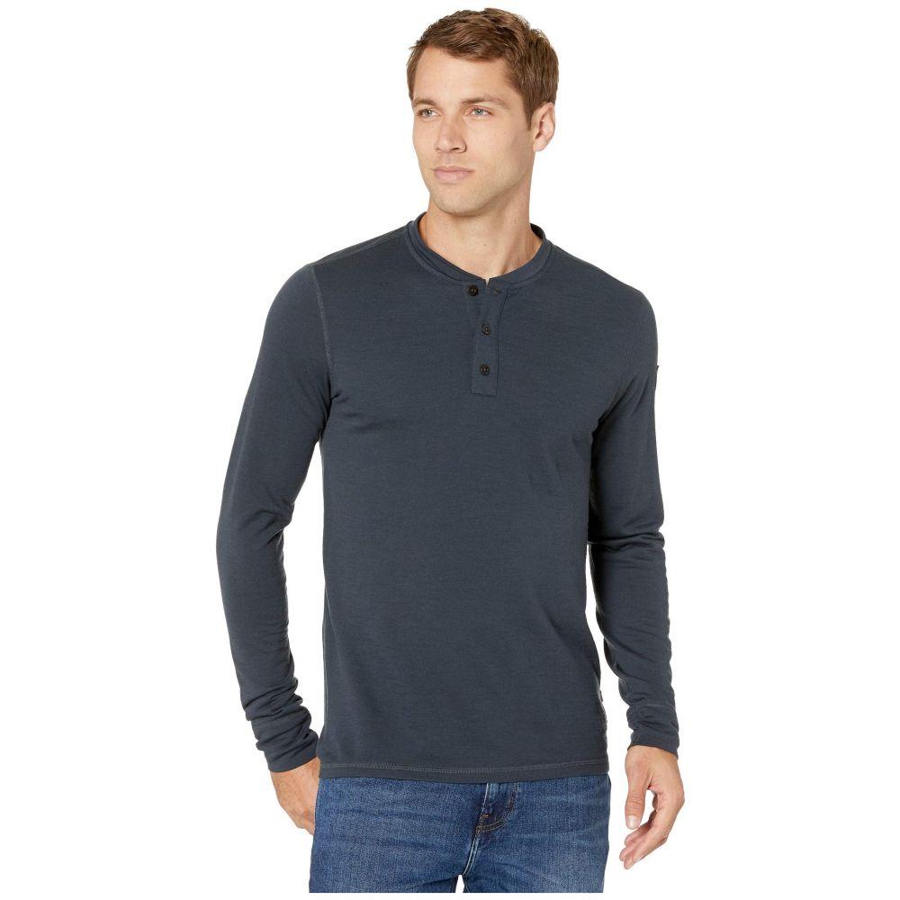 フェールラーベン Fjallraven メンズ Tシャツ ヘンリーシャツ トップス【Singi Merino Henley】Dark Navy