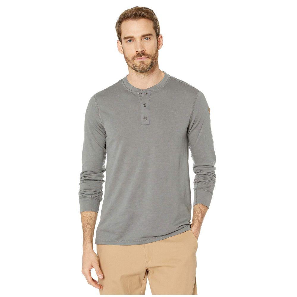 フェールラーベン Fjallraven メンズ Tシャツ ヘンリーシャツ トップス【Singi Merino Henley】Grey