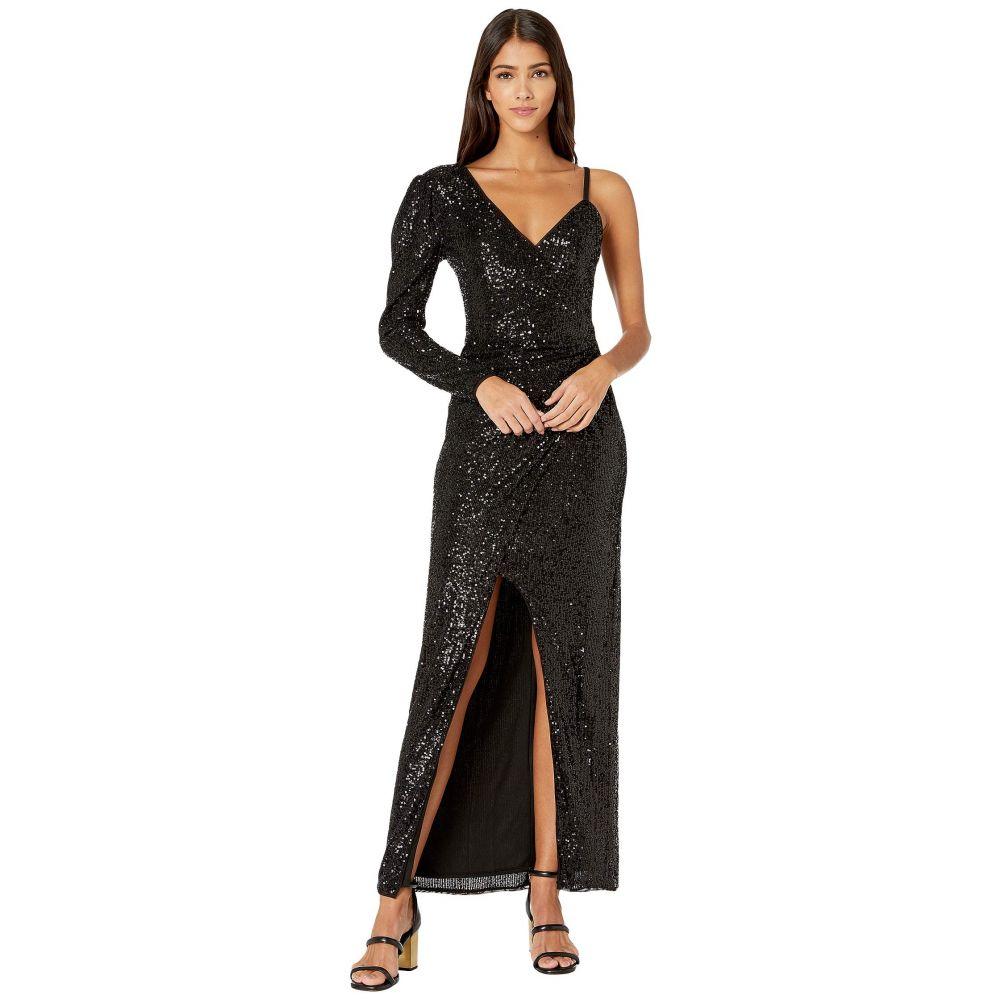 ビーシービージーマックスアズリア BCBGMAXAZRIA レディース ワンピース ワンピース・ドレス【Eve Long Knit Dress】Black