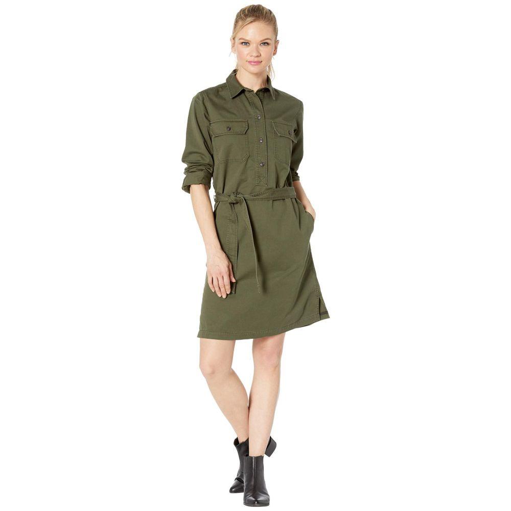 フィルソン Filson レディース ワンピース シャツワンピース ワンピース・ドレス【Colville Twill Shirt Dress】Olive