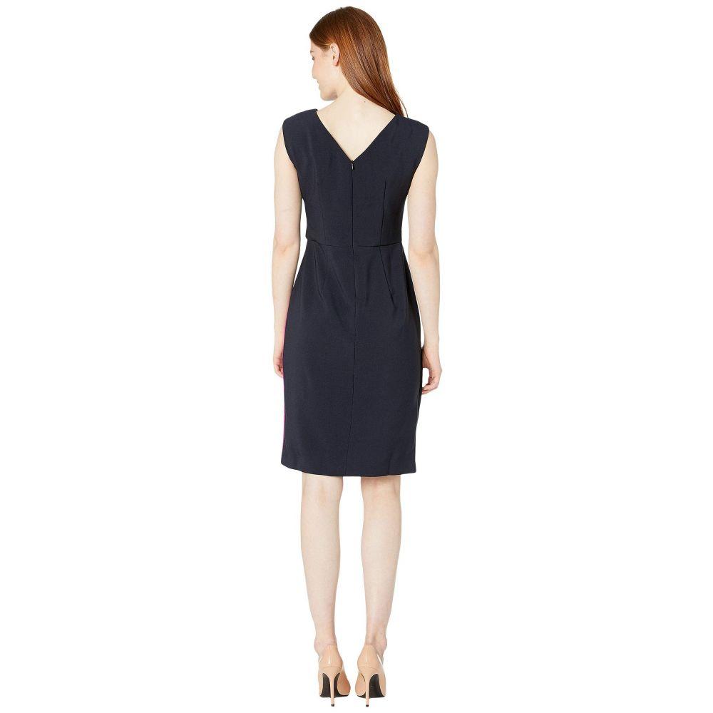 マギーロンドン Maggy London レディース ワンピース ワンピース・ドレス Mystic Crepe Color Block Dress Dark Navy Raspberrymv8OywPNn0