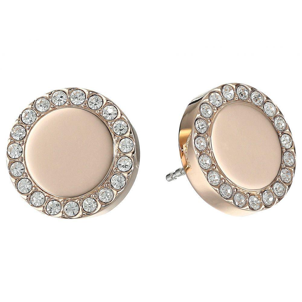 フォッシル Fossil レディース イヤリング・ピアス ジュエリー・アクセサリー【Glitz Metal Stud Earrings】Rose Gold