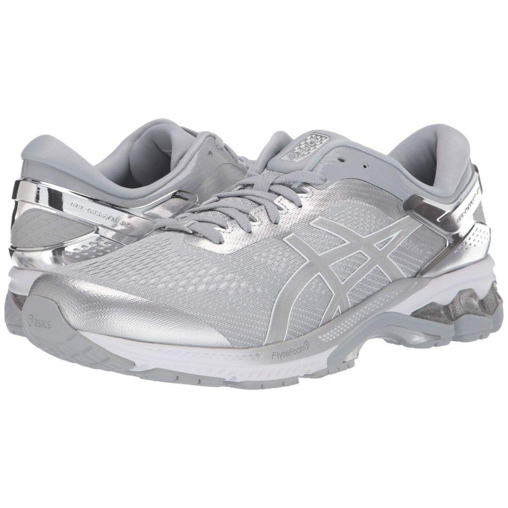 アシックス ASICS メンズ ランニング・ウォーキング シューズ・靴【GEL-Kayano 26】Peidmont Grey/Silver