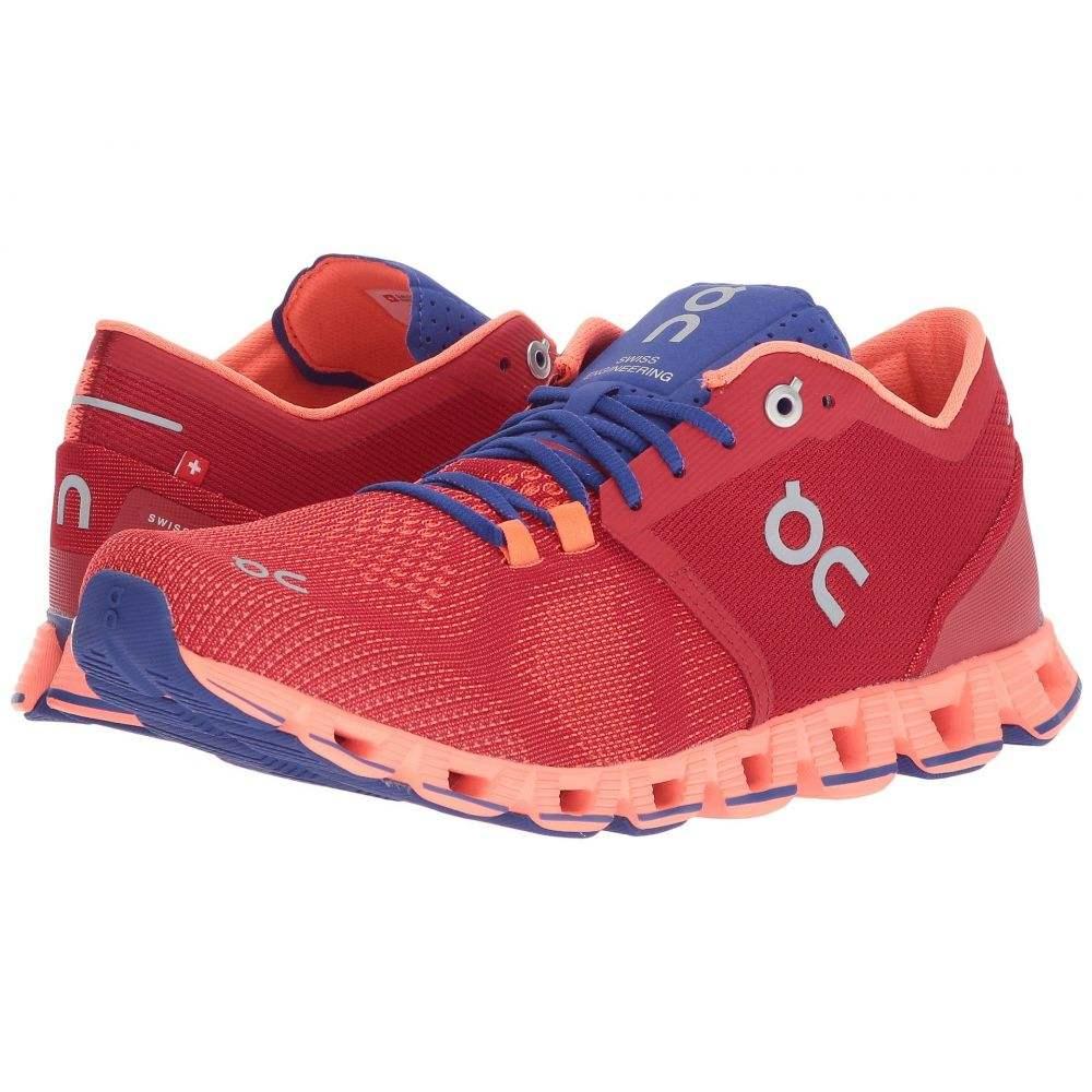 オン On レディース ランニング・ウォーキング シューズ・靴【Cloud X】Red/Flash