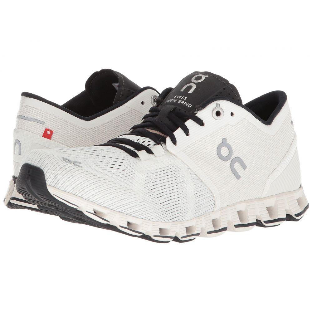 オン On レディース ランニング・ウォーキング シューズ・靴【Cloud X】White/Black