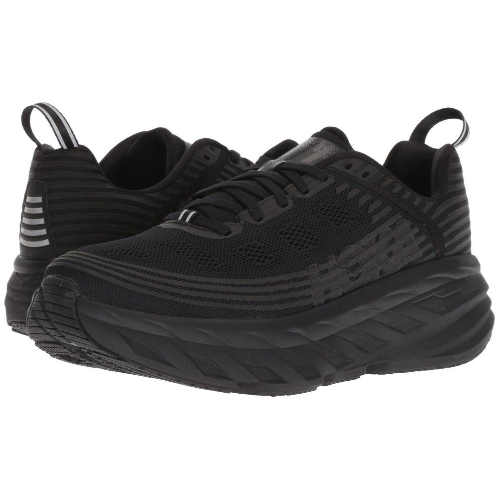 ホカ オネオネ Hoka One One レディース ランニング・ウォーキング シューズ・靴【Bondi 6】Black/Black