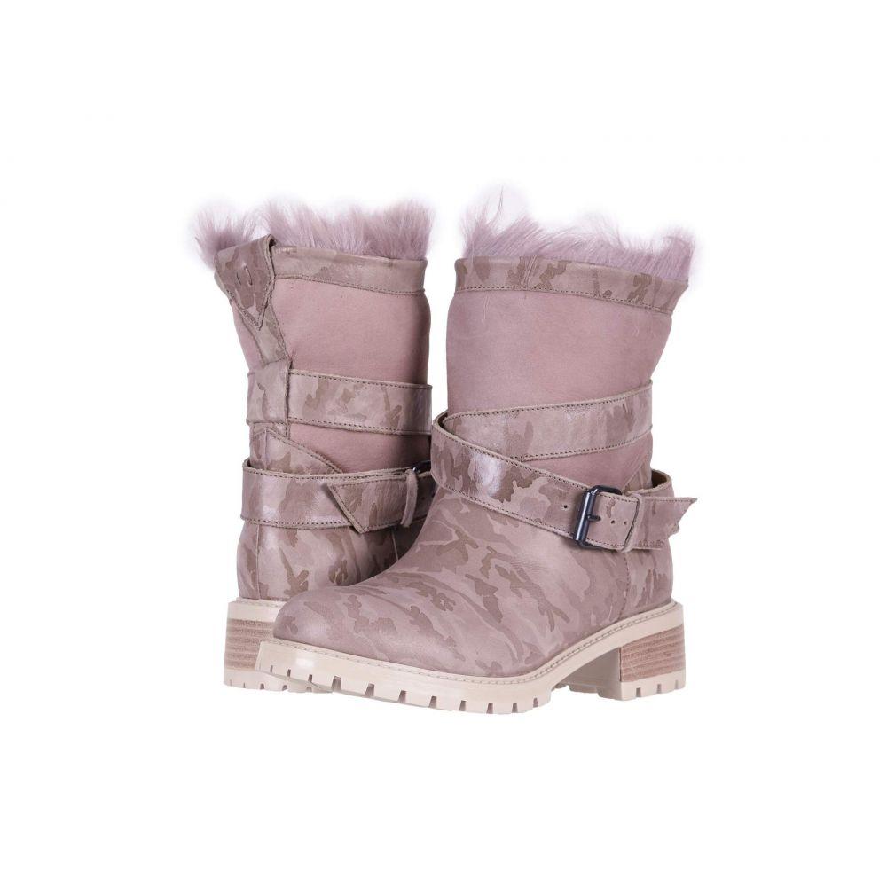 ロス & スノー Ross & Snow レディース ブーツ シューズ・靴【Emilina SP Moto Boot】Blush Camo
