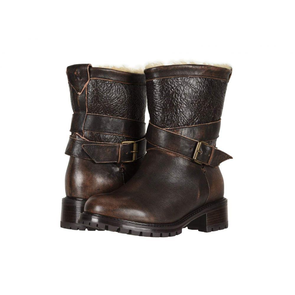 ロス & スノー Ross & Snow レディース ブーツ シューズ・靴【Emilina SP Moto Boot】Bomber Brown