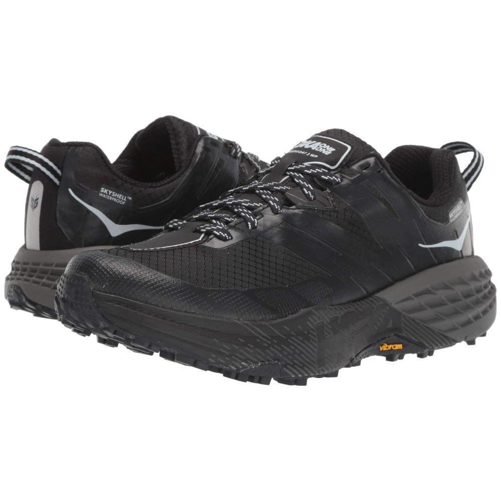 ホカ オネオネ Hoka One One レディース ランニング・ウォーキング シューズ・靴【Speedgoat 3 WP】Black/Plein Air