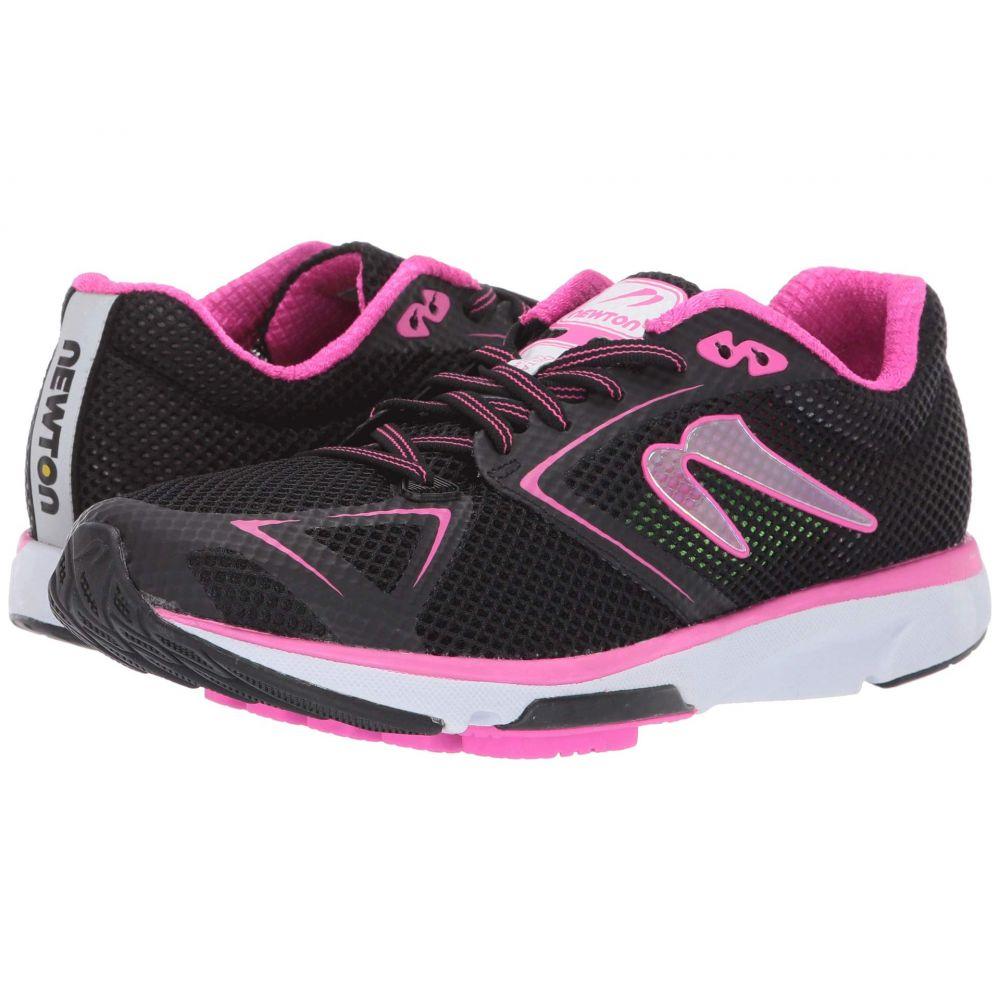 ニュートンランニング Newton Running レディース ランニング・ウォーキング シューズ・靴【Distance 8】Black/Fuchsia