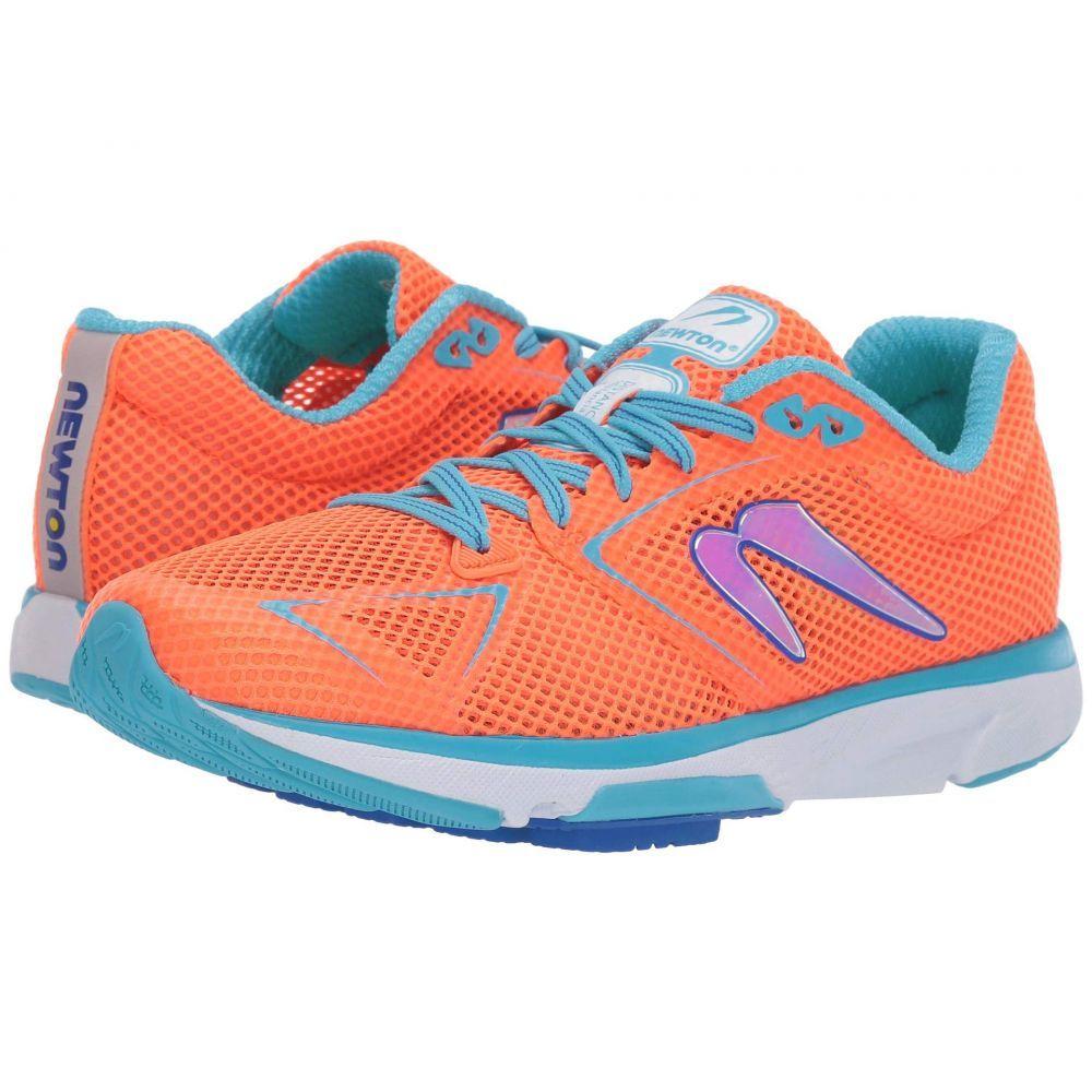 ニュートンランニング Newton Running レディース ランニング・ウォーキング シューズ・靴【Distance 8】Orange/Blue