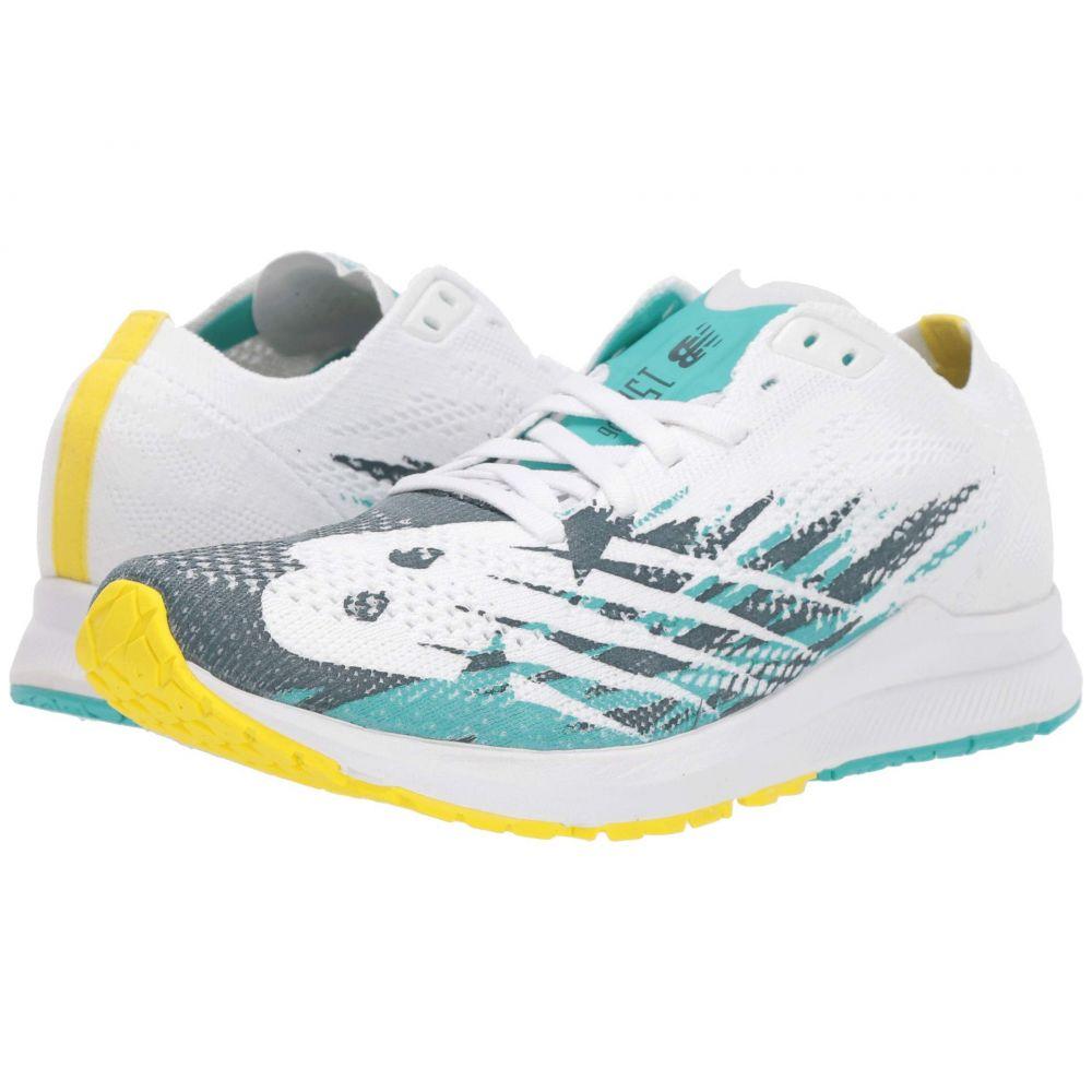 ニューバランス New Balance レディース ランニング・ウォーキング シューズ・靴【1500v6】White/Sunlight/Tidepool