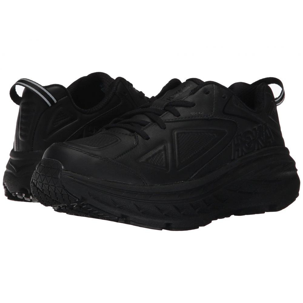 ホカ オネオネ Hoka One One レディース ランニング・ウォーキング シューズ・靴【Bondi Leather】Black