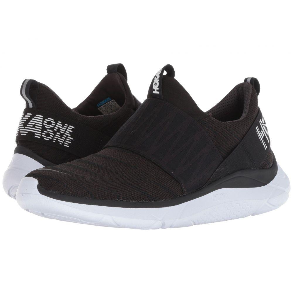 ホカ オネオネ Hoka One One レディース ランニング・ウォーキング シューズ・靴【Hupana Slip】Black/White