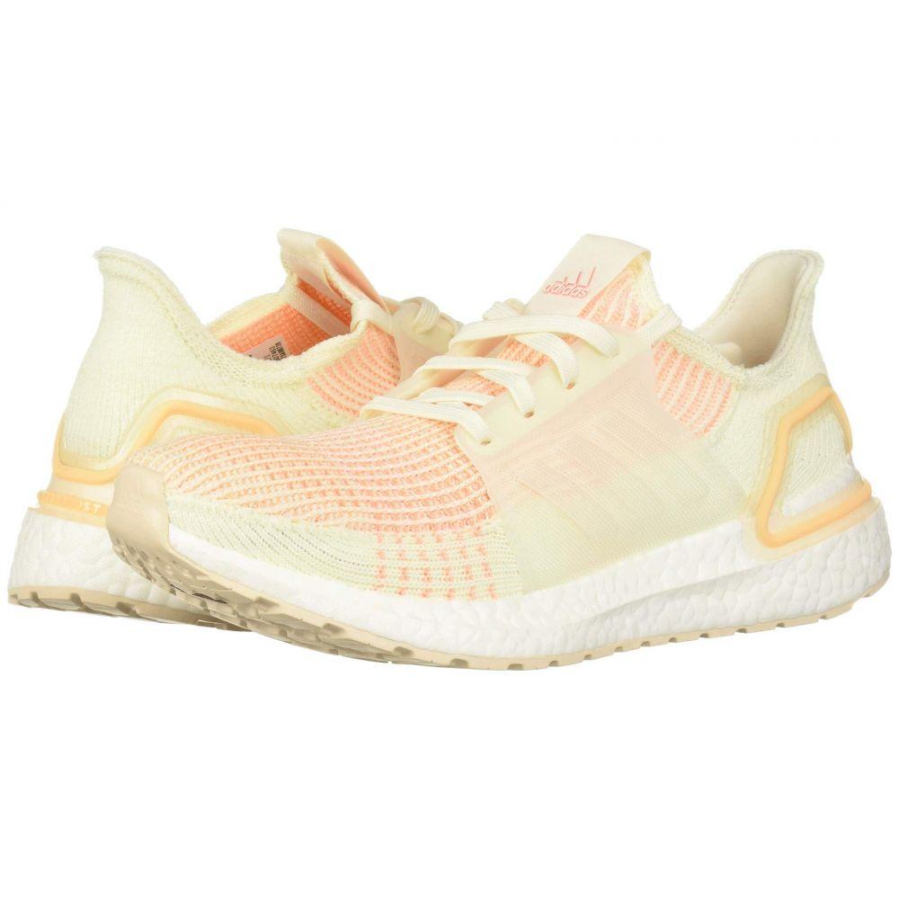 アディダス adidas Running レディース ランニング・ウォーキング シューズ・靴【Ultraboost 19】Off-White/Off-White/Glow Orange