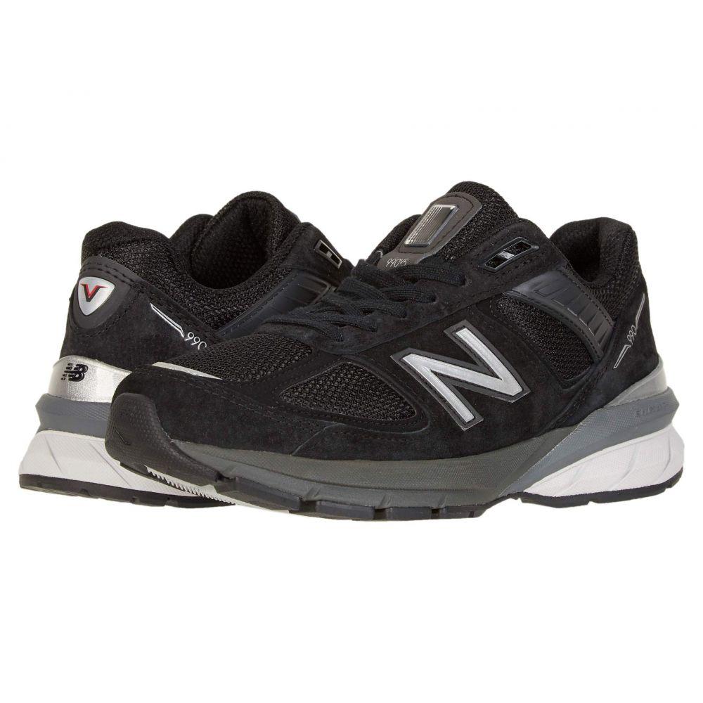 ニューバランス New Balance レディース ランニング・ウォーキング シューズ・靴【990v5】Black/Silver