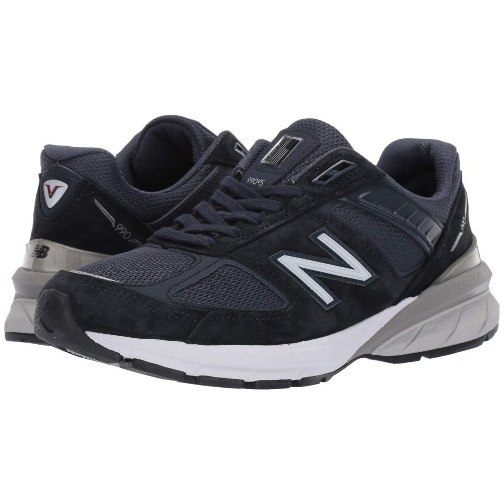 ニューバランス New Balance レディース ランニング・ウォーキング シューズ・靴【990v5】Navy/Silver