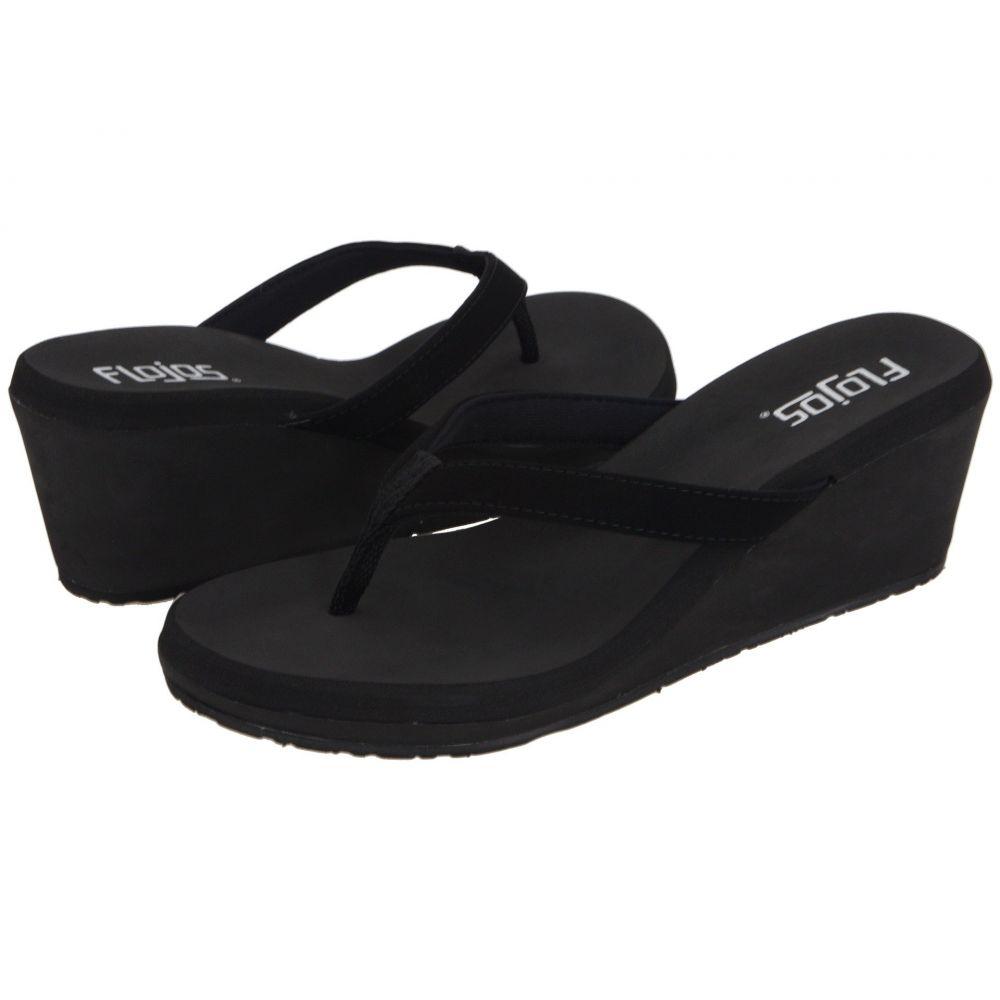フロジョス Flojos レディース ヒール シューズ・靴【Olivia】Black
