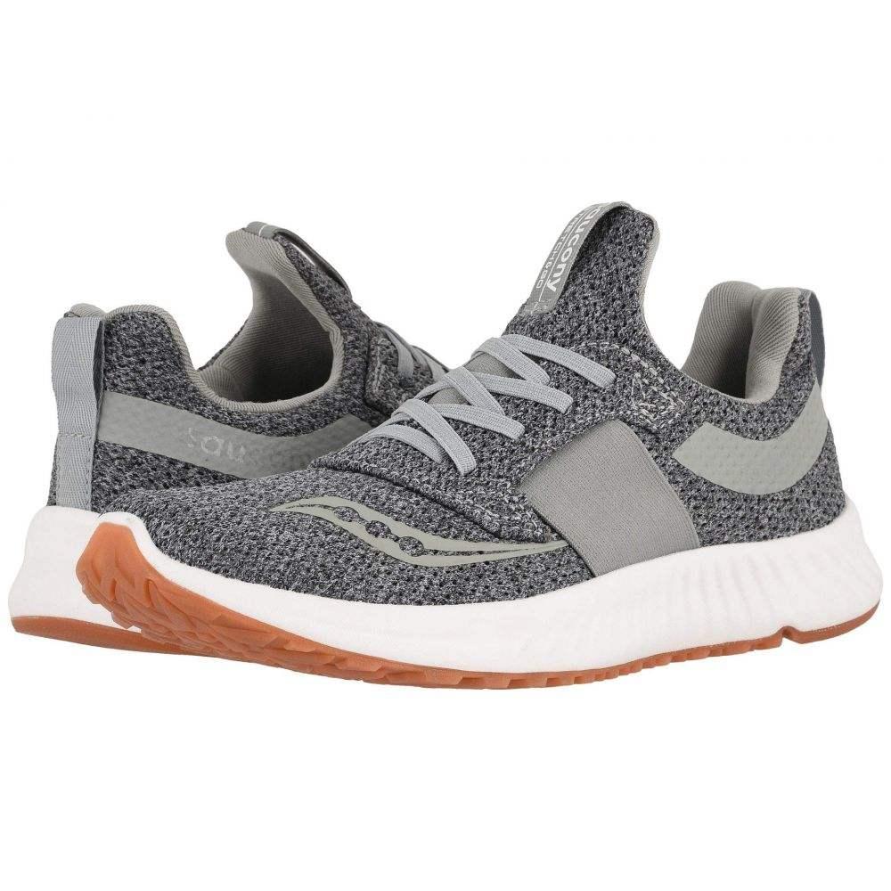 サッカニー Saucony レディース ランニング・ウォーキング シューズ・靴【Stretch & Go Breeze】Charcoal/Gray