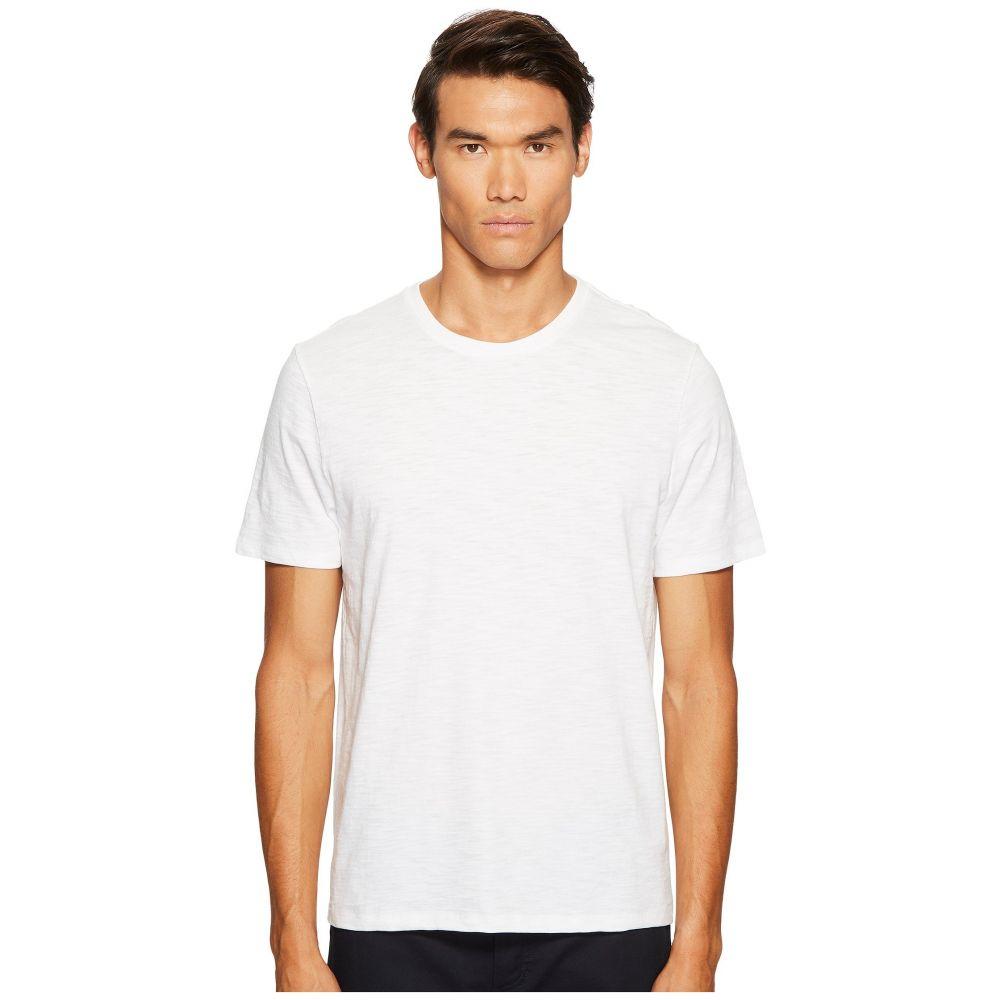 ヴィンス Vince メンズ Tシャツ トップス【Short Sleeve Slub Crew Neck】Optic White
