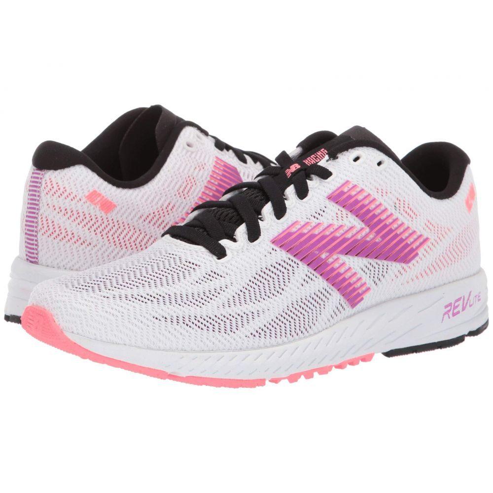 ニューバランス New Balance レディース ランニング・ウォーキング シューズ・靴【1400v6】White/Voltage Violet