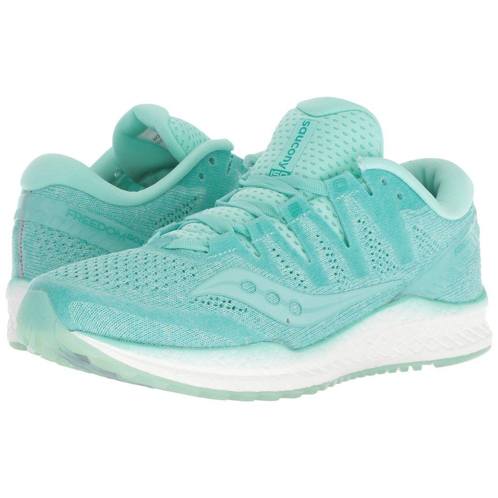 サッカニー Saucony レディース ランニング・ウォーキング シューズ・靴【Freedom ISO】Aqua