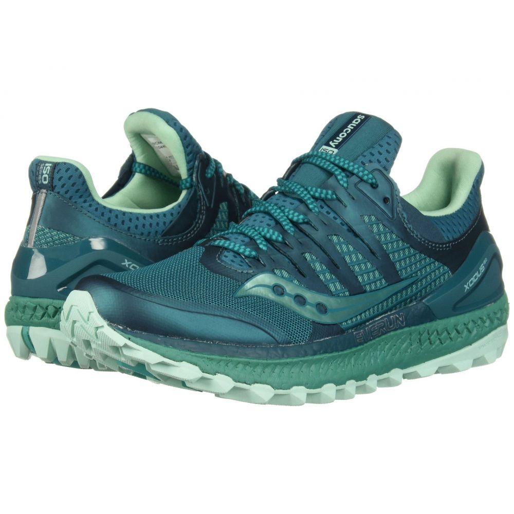 サッカニー Saucony レディース ランニング・ウォーキング シューズ・靴【Xodus ISO】Green/Aqua