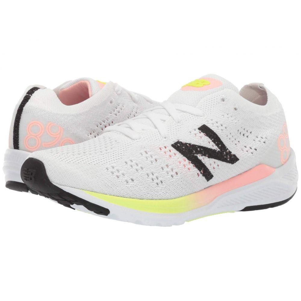 ニューバランス New Balance レディース ランニング・ウォーキング シューズ・靴【890V7】White/Guava Glo