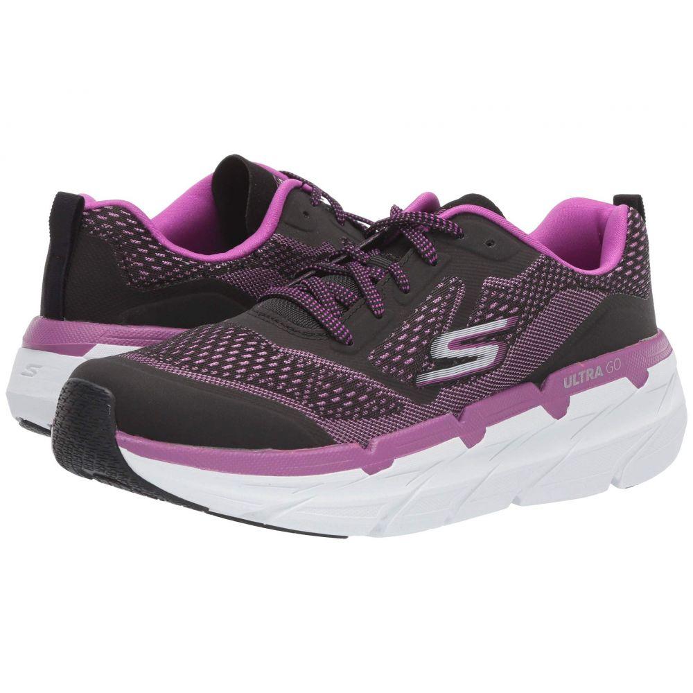 スケッチャーズ SKECHERS レディース ランニング・ウォーキング シューズ・靴【Max Cushion - 17690】Black/Purple
