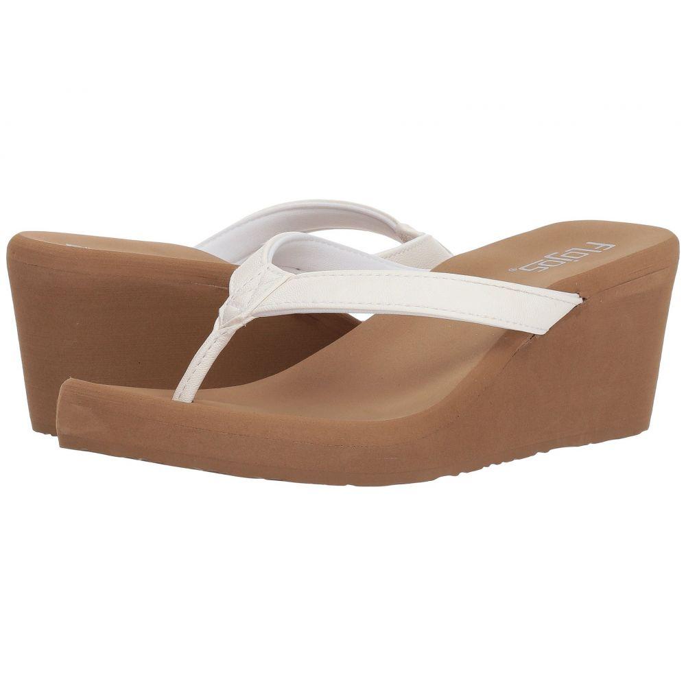 フロジョス Flojos レディース ヒール シューズ・靴【Olivia】White