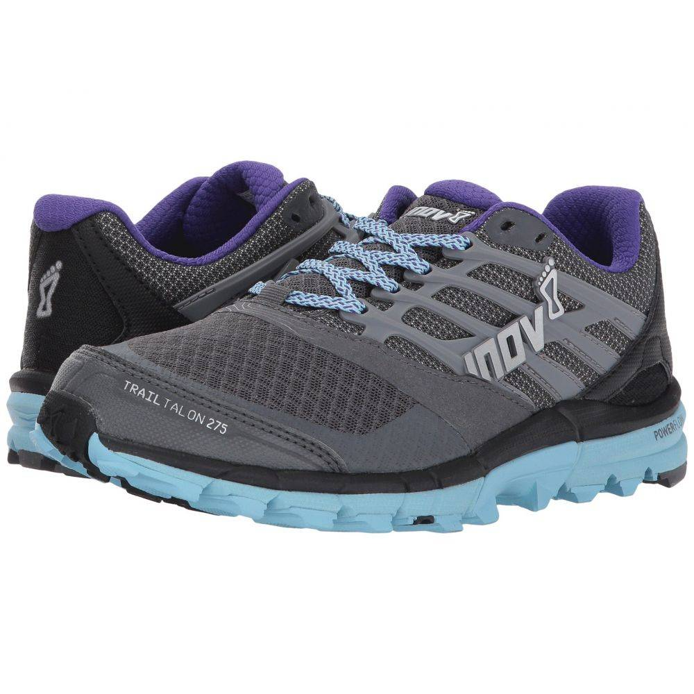 イノヴェイト inov-8 レディース ランニング・ウォーキング シューズ・靴【TrailTalon 275】Grey/Blue/Purple