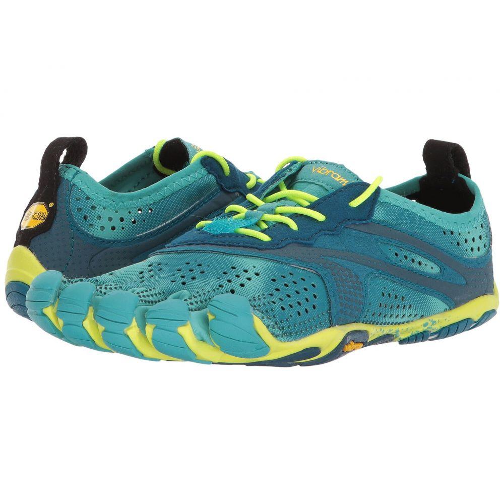 ビブラムファイブフィンガーズ Vibram FiveFingers レディース ランニング・ウォーキング シューズ・靴【V-Run】Teal/Navy