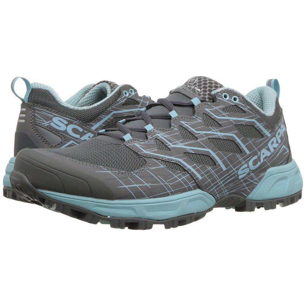 スカルパ Scarpa レディース ランニング・ウォーキング シューズ・靴【Neutron 2】Grey/Blue Radiance