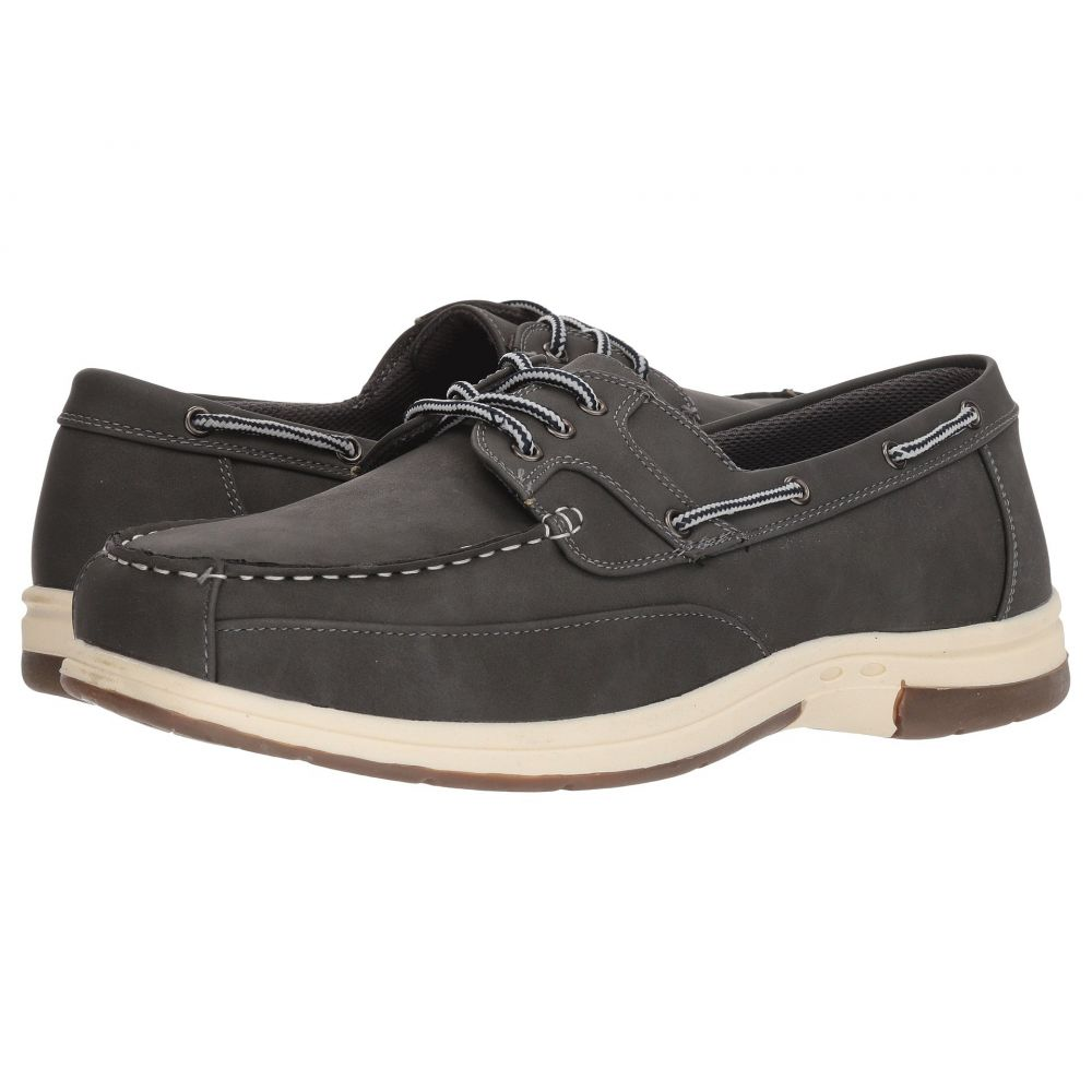 ディール スタッグス Deer Stags メンズ デッキシューズ デッキシューズ シューズ・靴【Mitch Boat Shoe】Dark Grey Simulated Oiled Leather