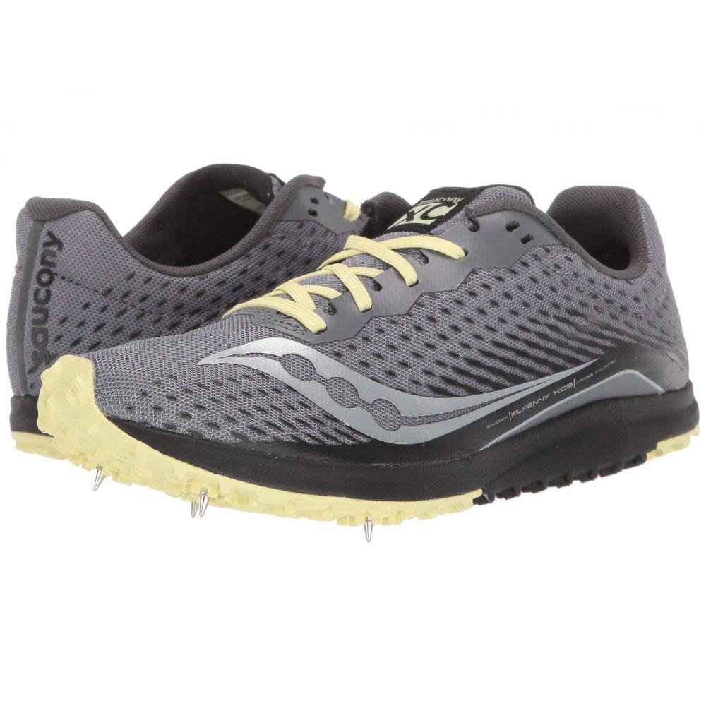 サッカニー Saucony レディース ランニング・ウォーキング シューズ・靴【Kilkenny XC8】Black/Yellow