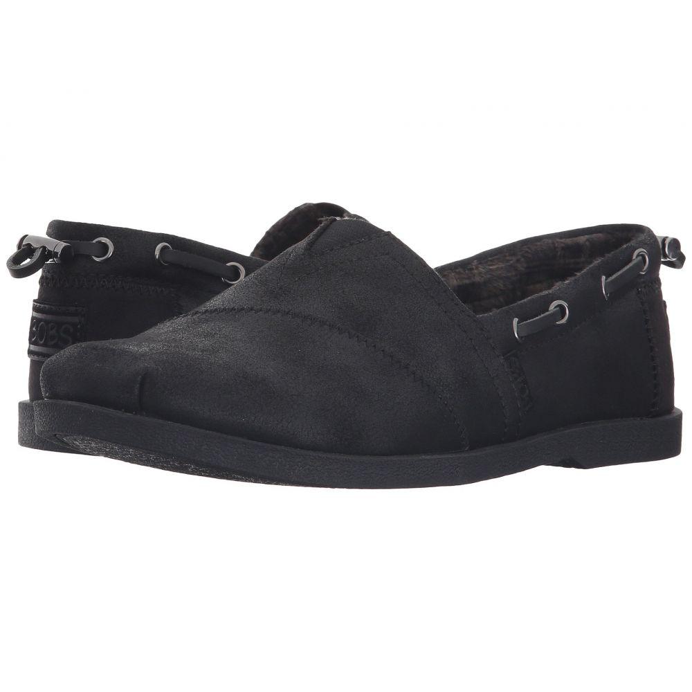 スケッチャーズ BOBS from SKECHERS レディース ローファー・オックスフォード シューズ・靴【Chill Luxe - Buttoned Up】Black