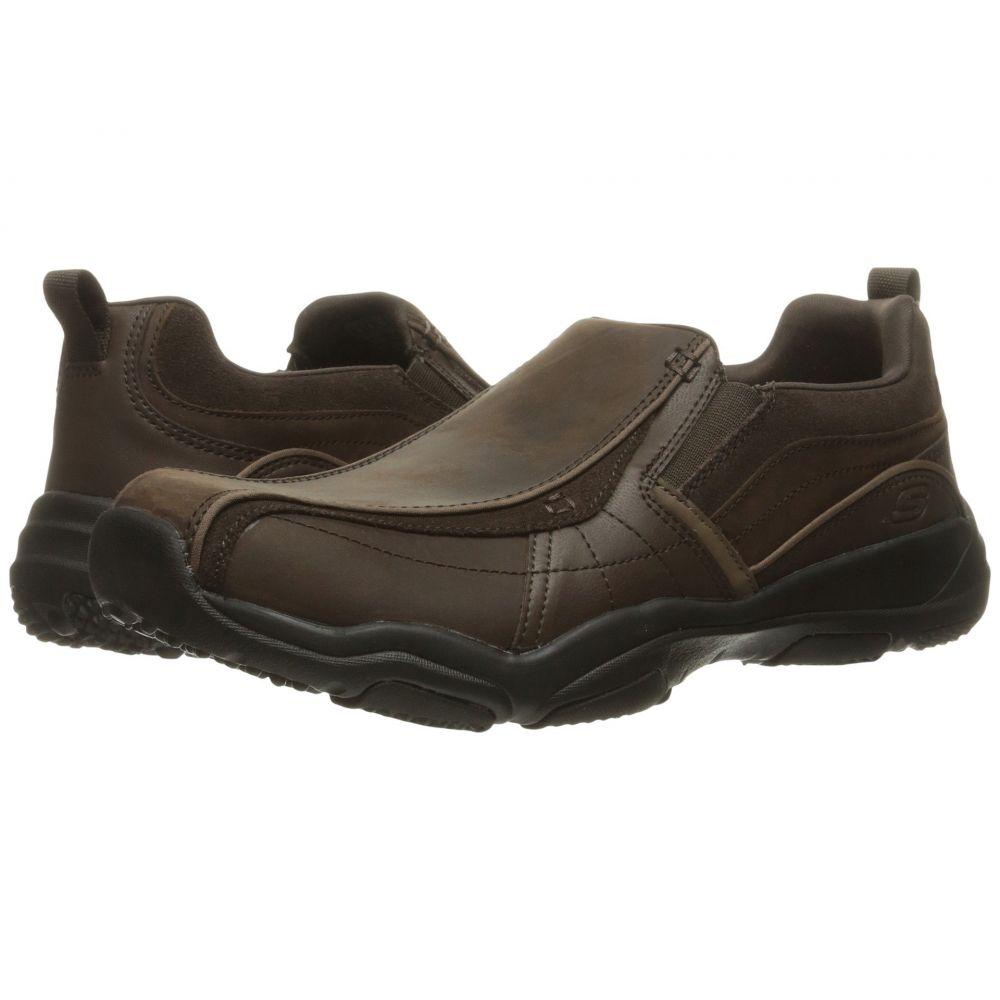 スケッチャーズ SKECHERS メンズ ローファー シューズ・靴【Classic Fit Larson - Berto】Dark Brown Leather